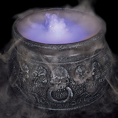 Halloween mist maker cauldron